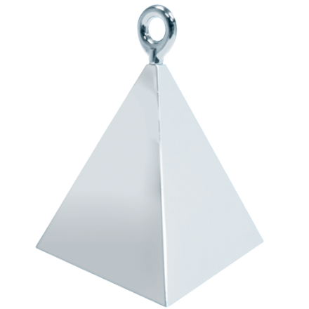 Silver Pyramid Weight